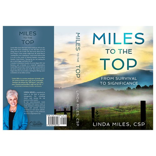 "Book cover for ""Miles to the Top"""