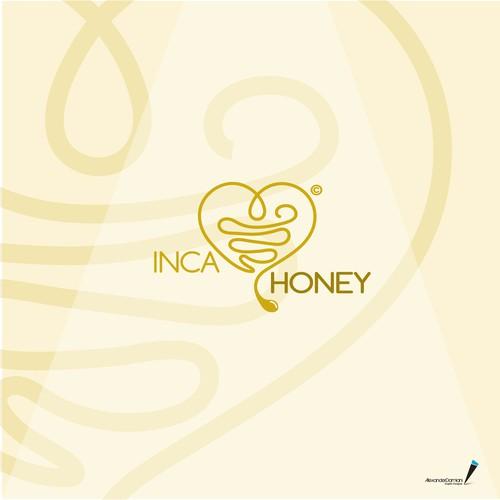 "logo for lovers of ""real"" honey"