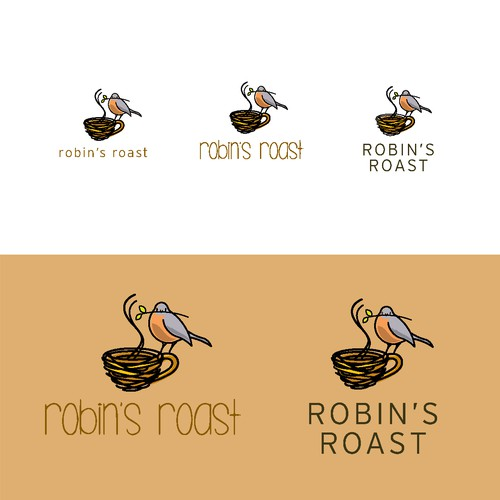 Playful Logo for Coffee Delivery