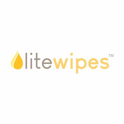 Lite Wipes logo