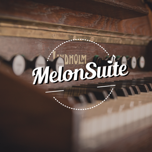 "Suggest the best font for the logo word ""MelonSuite"""