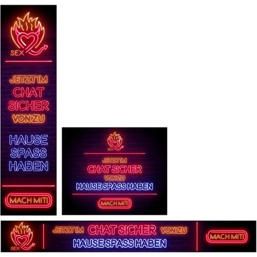 Adult Site banner design