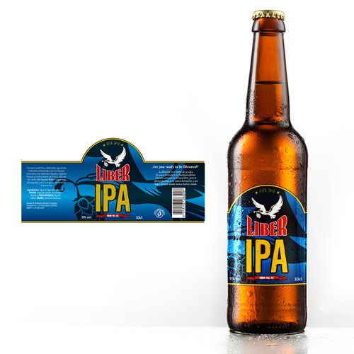 Label IPA Beer