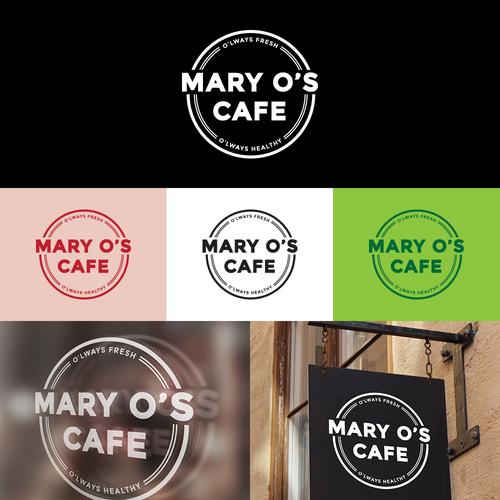 Mary O's Cafe Identity