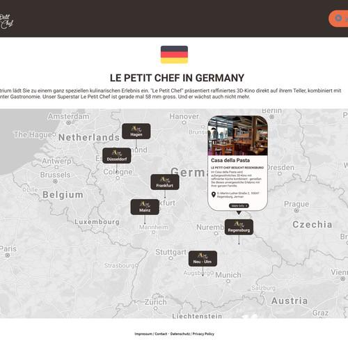 List of Restaurant Locations
