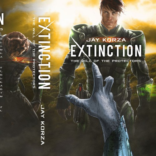 Military Sci-Fi book cover for Kindle and Createspace