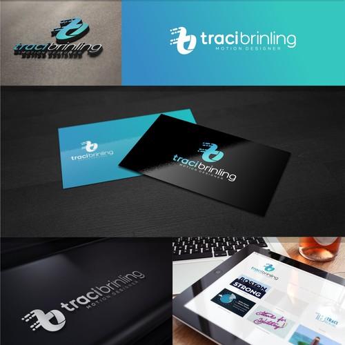 motion logo for traci brinling designer