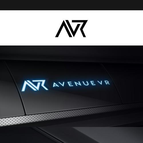 AVR concept logo design