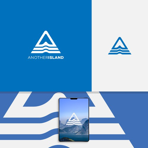 "Letter ""A"" Logo Conept for Travel Industry"
