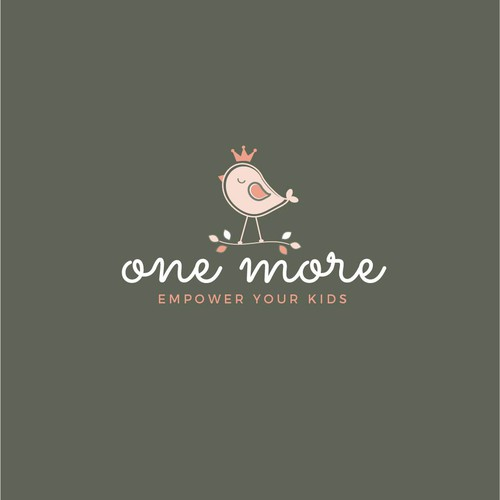 Sophisticated and luxurious logo for the kids company