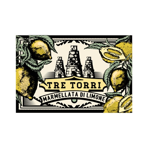Label for marmalade