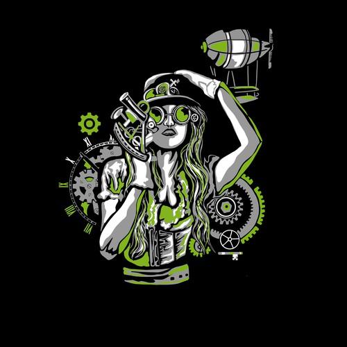 Inventors brewpub T-shirt design