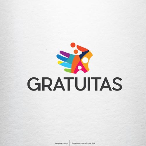 Hand logo concept for GRATUITAS