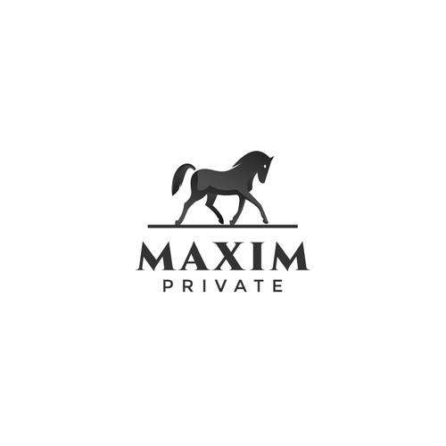 Bold logo for a financial advisor