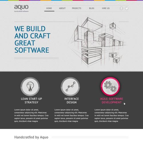Create the next website design for Aquo.com