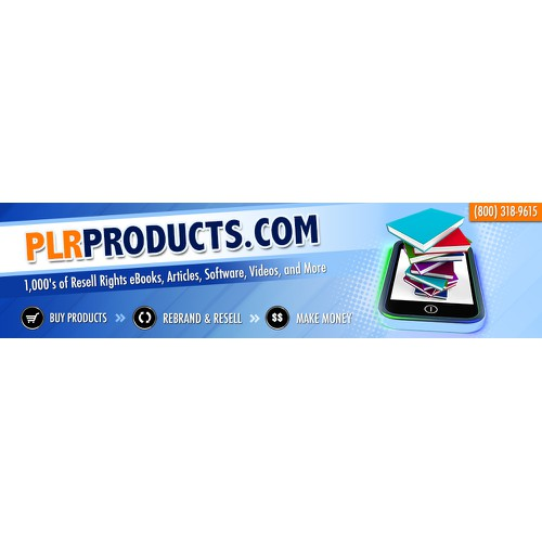 Website Banner for Product Resell Company