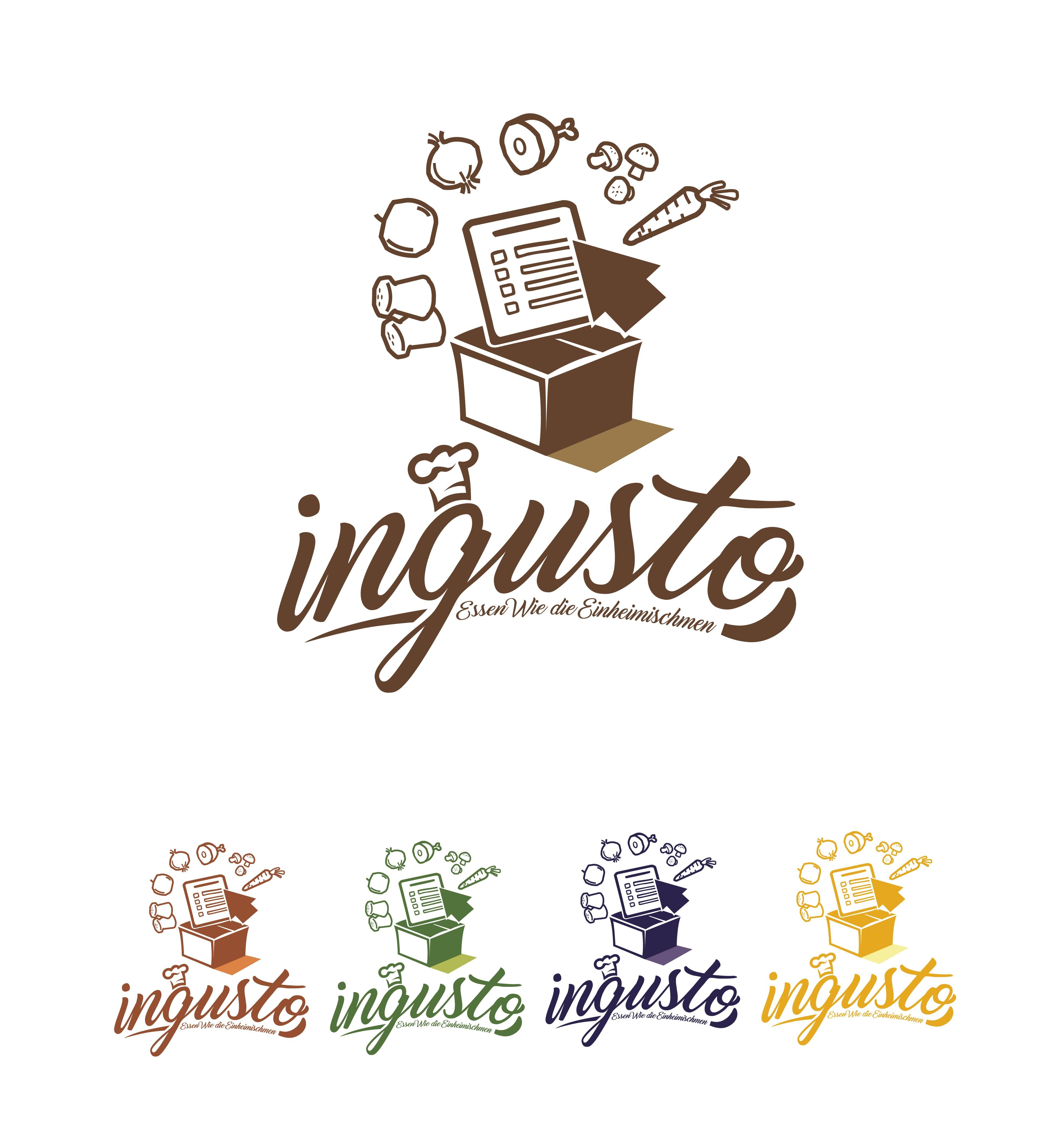 Logo für ingusto die Kochbox