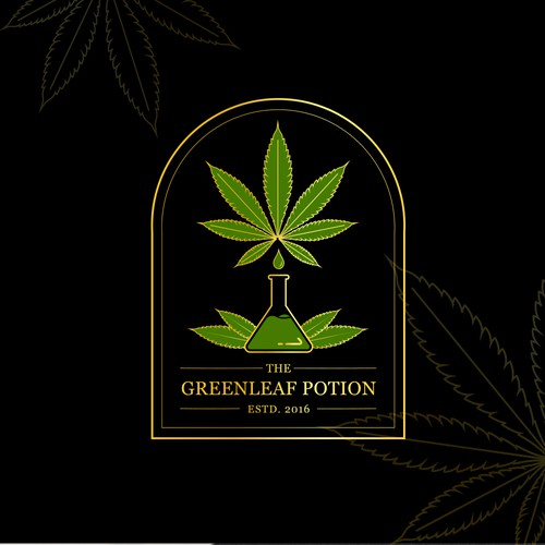 Logo Design for Cannabis Inspired Dining Experience