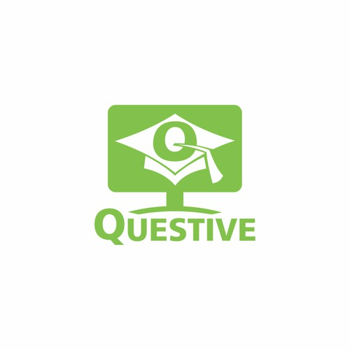 Create a logo for online learning platform Questive