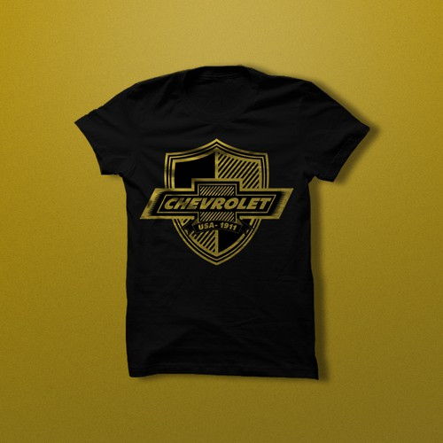 T-shirt Design for Chevrolet
