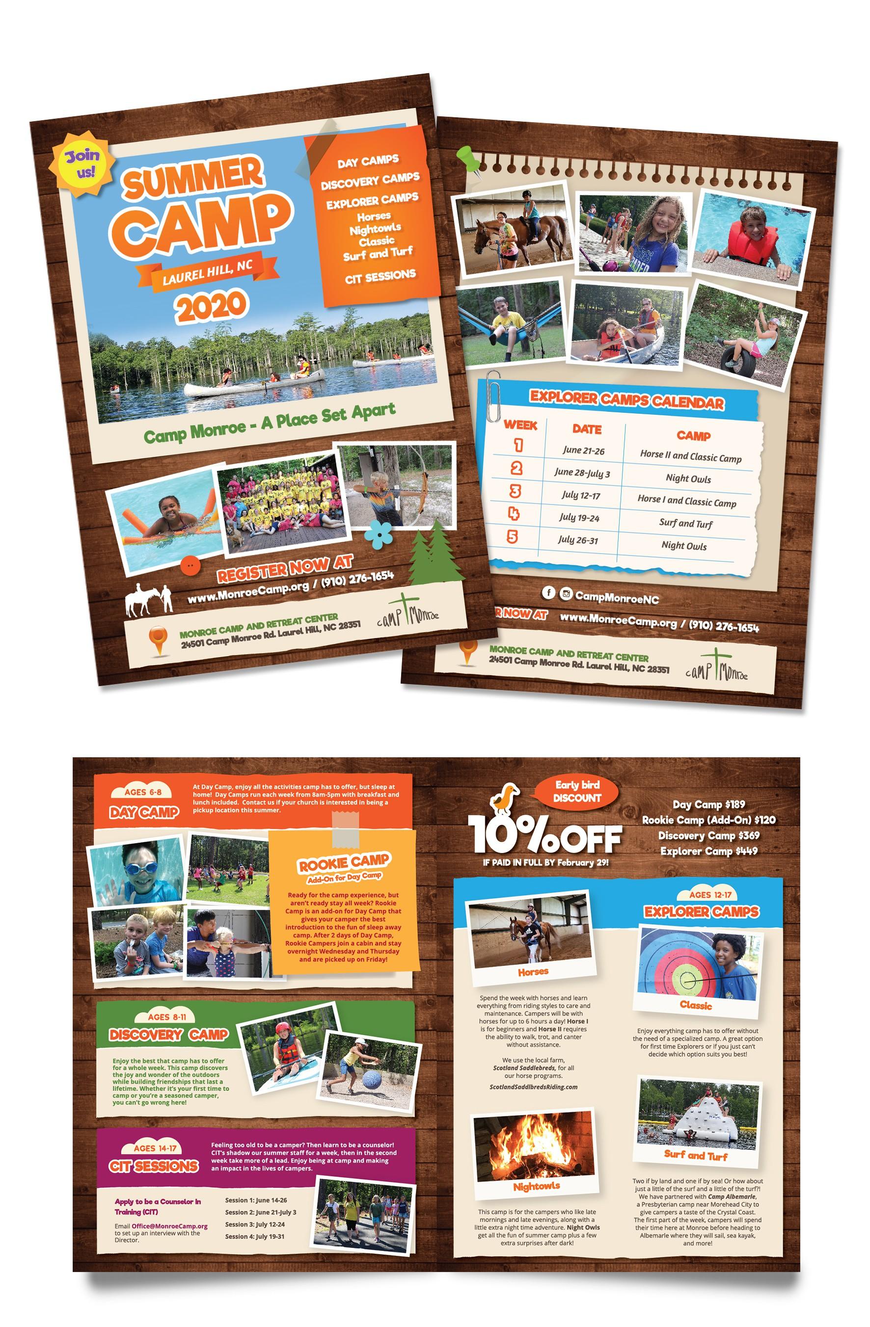Summer Camp Monroe-2020 Brochure