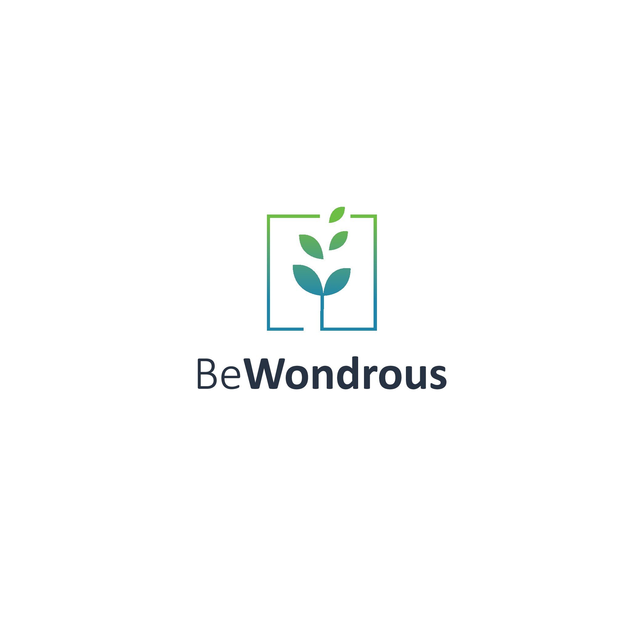 BeWondrous needs a relentlessly optimistic logo to help save the planet.