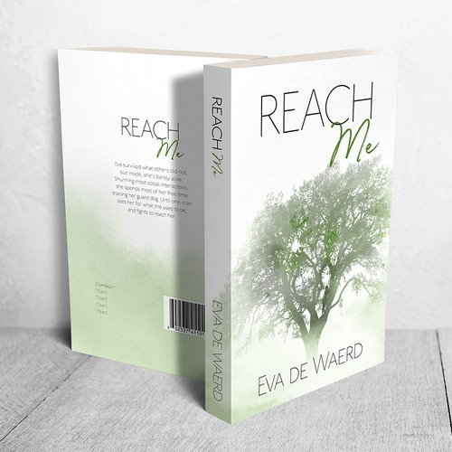"Cover for book ""Reach Me"" by Eva de Waerd"""