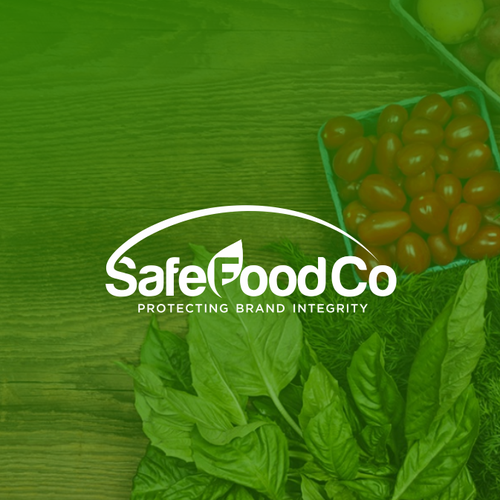 Literal design brand identity for SafeFoodCo