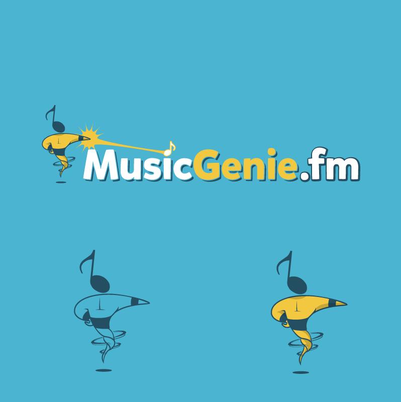 Help MusicGenie.fm with a new logo