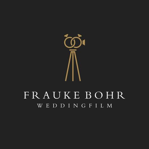 Logo für Hochzeitsfilmerin - Weddingfilm im cinematischen Look