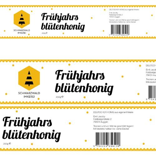 Logo & label // Honey