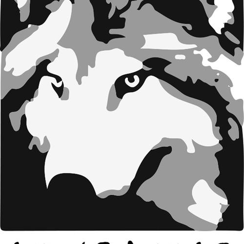 Wolf stylised
