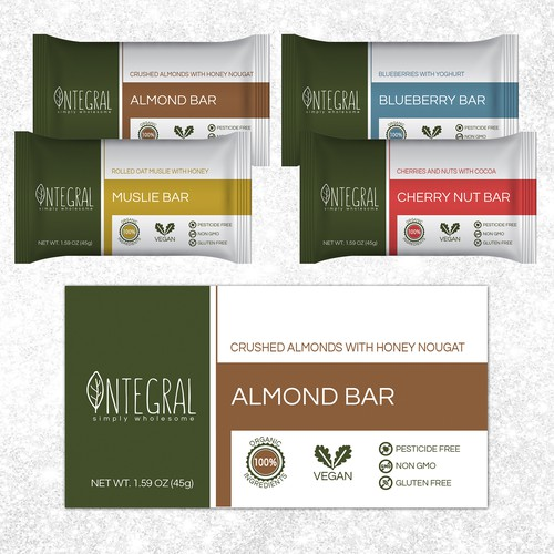 Vegan Snack Bar Packaging