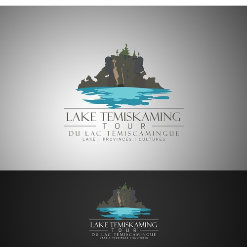 "Tourism Organization ""Lake Temiskaming Tour du lac Témiscamingue"" needs new logo"
