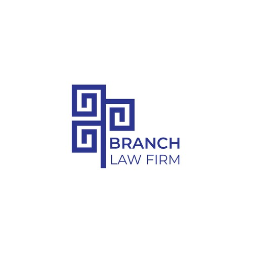 Logo using the concept of branches for a Law Firm.
