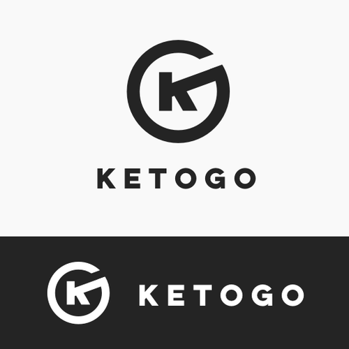 Modern logo for a supplement brand