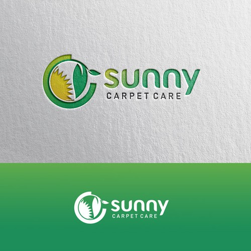 Create a green carpet cleaning site and logo that will instill trust and comfort.