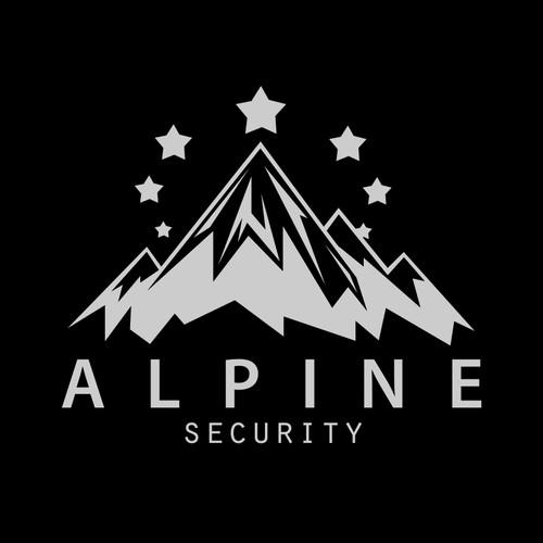 Logo concept for Alpine security