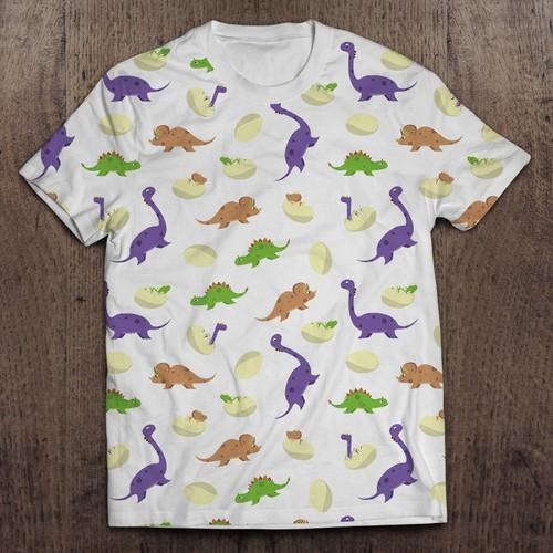 Dinosaur pattern for Kids