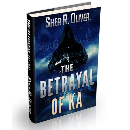 Cover design for sci-fi/fantasy novel