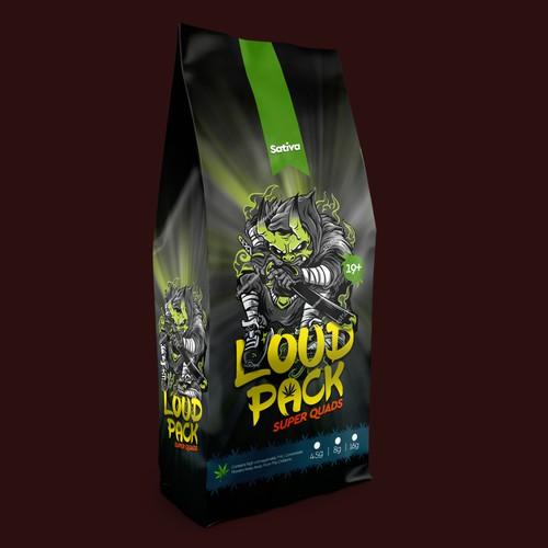 Loud Pack Design