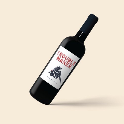 Logo concept for a new wine brand