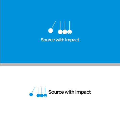 Unique logo for Social with Impact