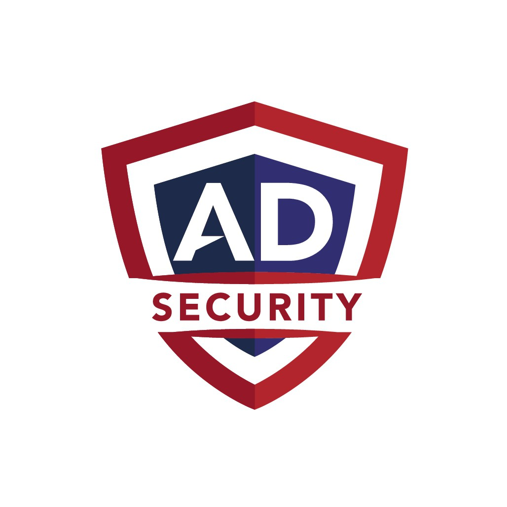 AD Security Logo for Smart Home Security Company