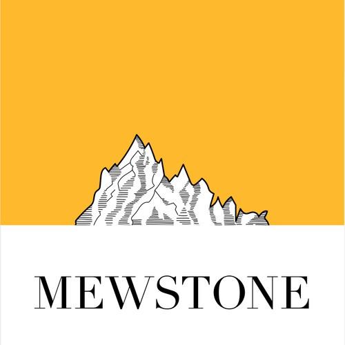 Mewstone Wine Label