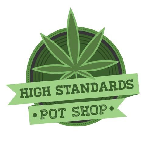 Washington Pot Shop Logo