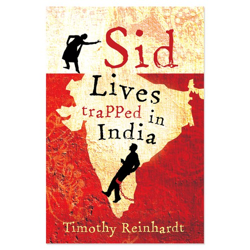 """Book cover for """"Sid Lives Trapped in India"""""""