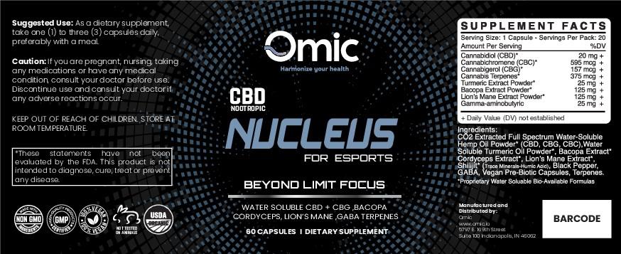 Video Gamer Supplement Label Design