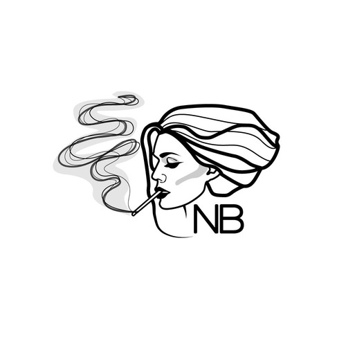sexy vintage logo for an online store called NORTH BLUNT