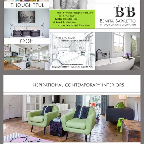 BB designs brochure
